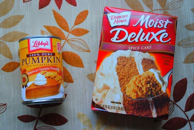 Spice Cake Mix Pumpkin Puree Cookies