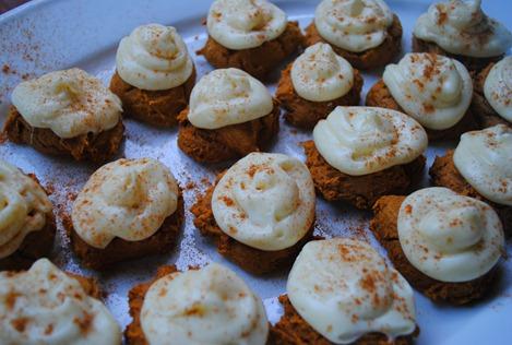 pumpkin spice cookies 068