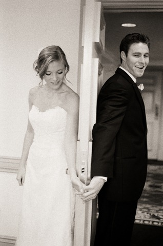 wedding first look alternative