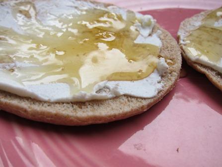 goat cheese and honey 003