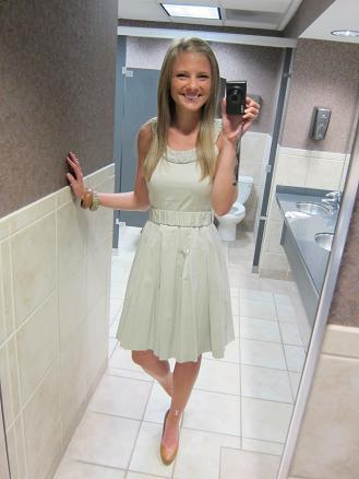 Graduation Dress - Peanut Butter Fingers