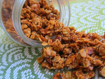almond butter granola 031