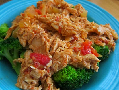 buffalo chicken crock pot 004