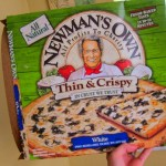 newmans own white pizza 007