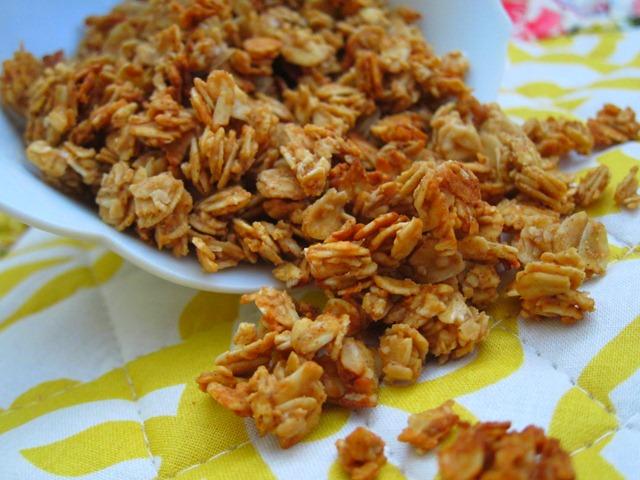 Peanut Butter Granola - Peanut Butter Fingers