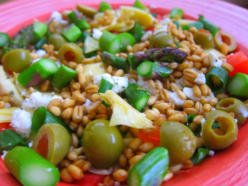 Wheat Berry Salad Recipe — Dishmaps
