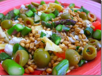 wheat berry salad 008