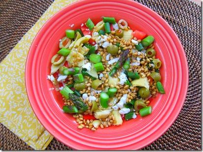 wheat berry salad 009