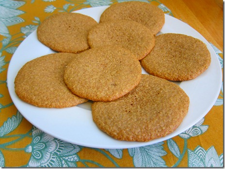 wheat germ cookies 051