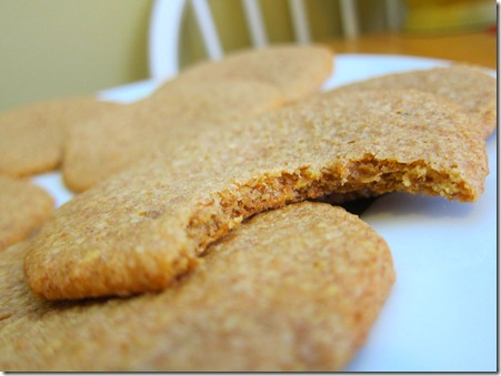 wheat germ cookies 056