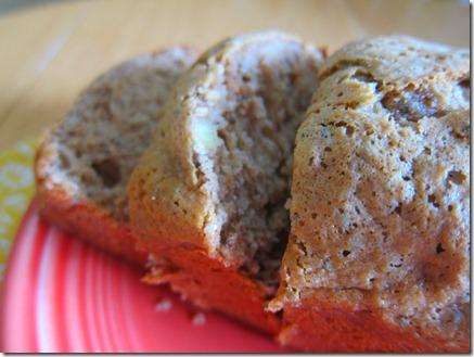 banana bread mini loaf 011