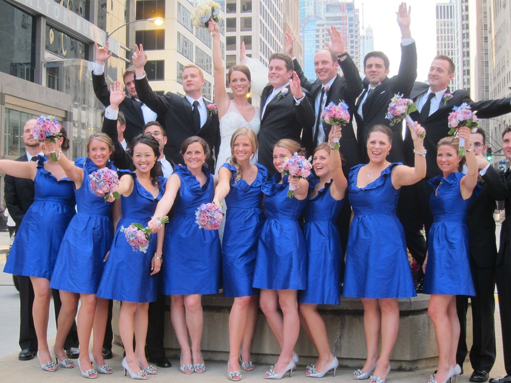Wedding inspiration uk elegant blue bridesmaid dresses 2014 ombrellifo Gallery