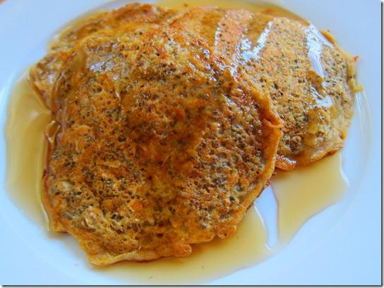 oatmeal whole wheat pancakes 004