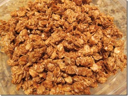 peanut butter granola 001