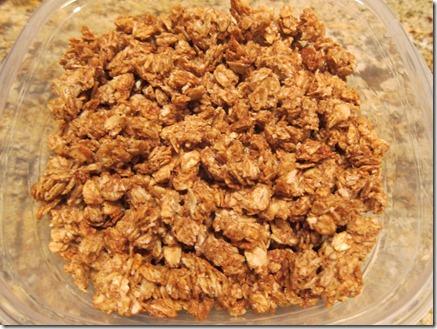 peanut butter granola 003