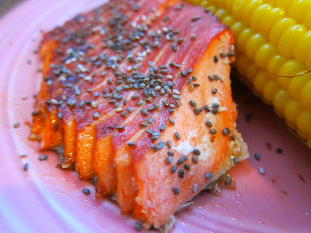 Soy Glazed Salmon - Peanut Butter Fingers