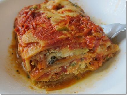 homemade frozen lasagna 006