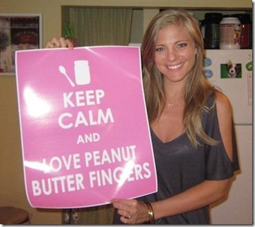 peanut butter fingers print