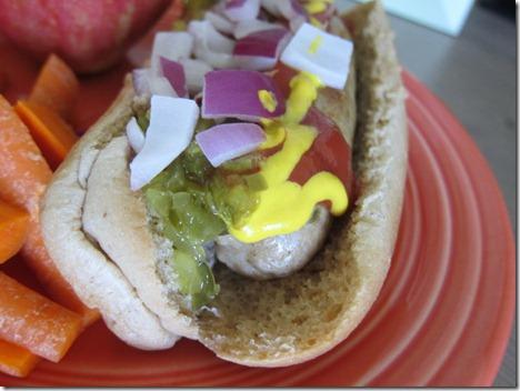 alfresco chicken sausage 003