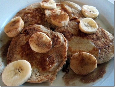 banana protein pancakes 005