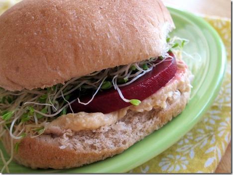 hummus and beet sandwich 007