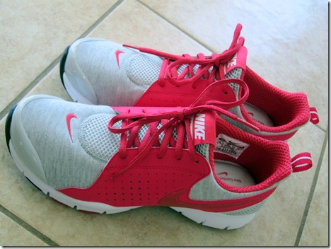 nike shoes pink gray 014