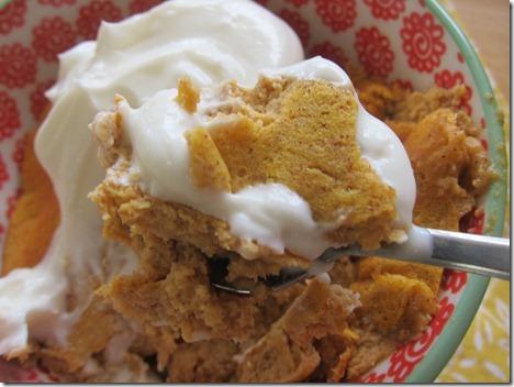 pumpkin pancake bowl 010