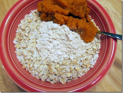 pumpkin protein oatmeal 001