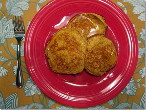 pumpkin protein pancakes 005