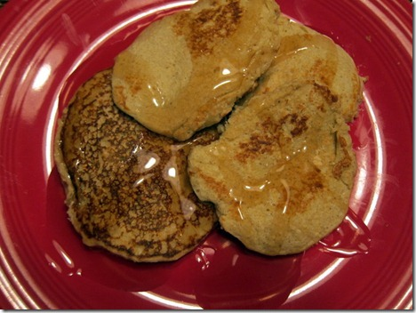 banana bread protein pancakes 021