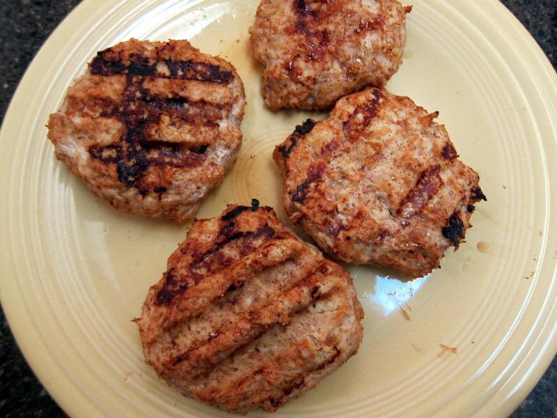 BBQ Chicken Burgers - Peanut Butter Fingers