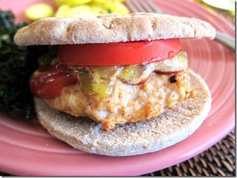 bbq chicken burgers 003