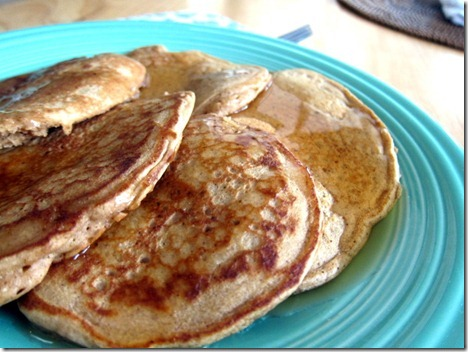 gingerbread pancakes 014