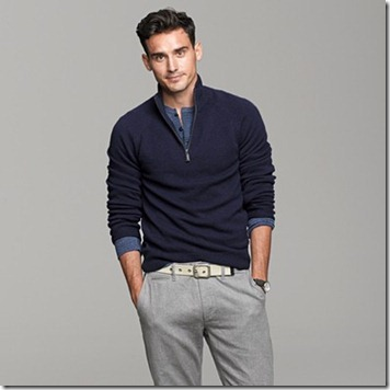 j.crew quarter zip sweater