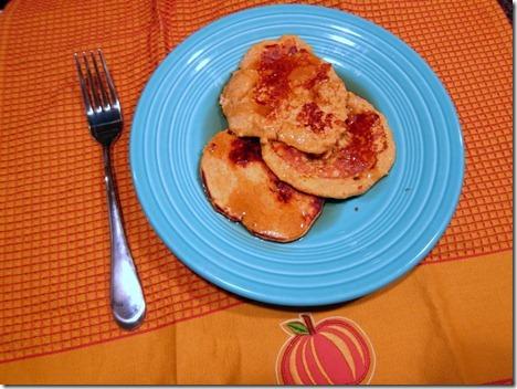 pumpkin butter pancakes 031