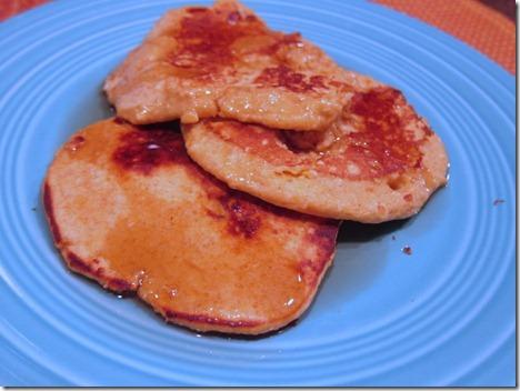 pumpkin butter pancakes 037