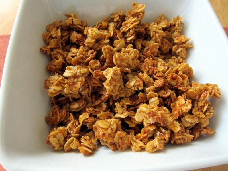 pumpkin easy pumpkin spice granola pumpkin spice granola homemade ...
