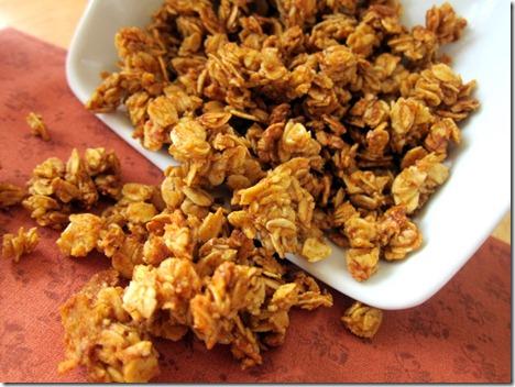pumpkin spice granola 011