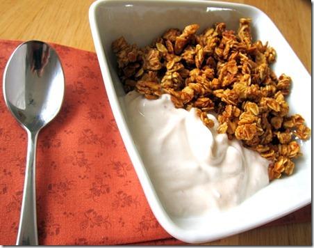 pumpkin spice granola 018