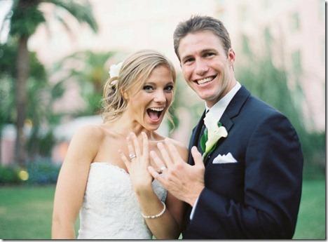 rings bride and groom