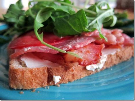 bacon arugula tomato 012