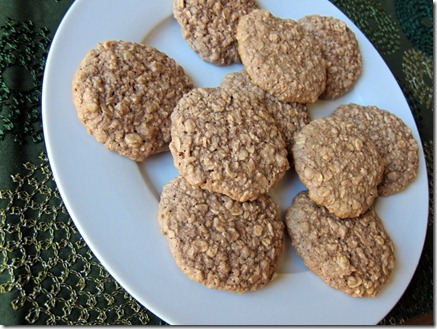 cocoa oatmeal cookies 045