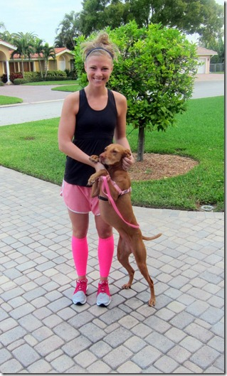 compression sleeves pink 004