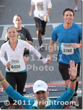 half marathon finish rock n roll
