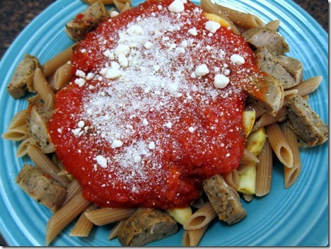 penne nd sausage 002