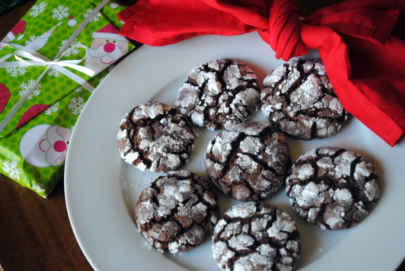 Chocolate cookies with cake mix recipe