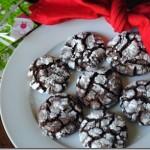 chocolate crinkle cookies 022