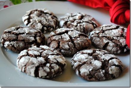 Chocolate Crinkles Using Cake Mix