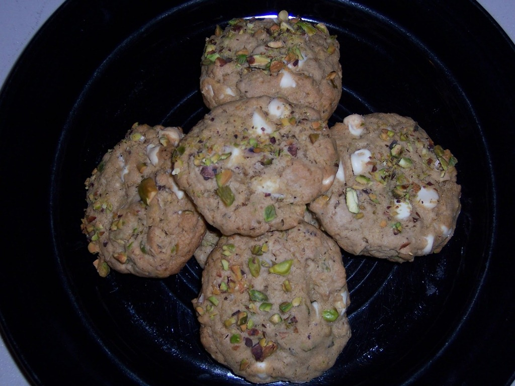 White Chocolate Chip Pistachio Cookies (Submitted by Ali who claims ...