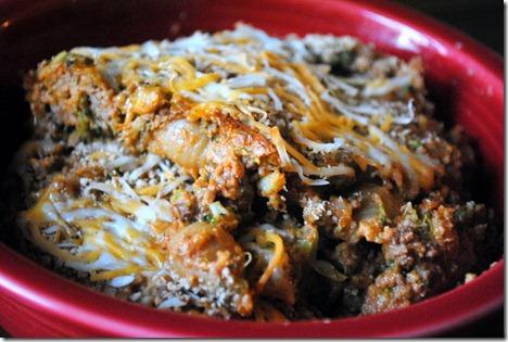 Italian pasta casserole 008